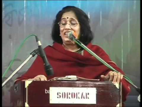 14 Arati Mukherjee   Song   Bardhaman Utsav 2011