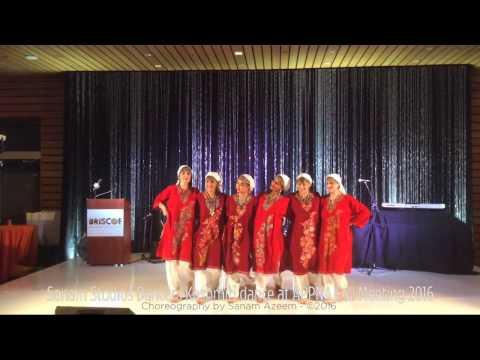 Kashmiri Dance Performance by Sanam Studios Dancers at APPNA Fall Mtg 2016 San Antonio, TX