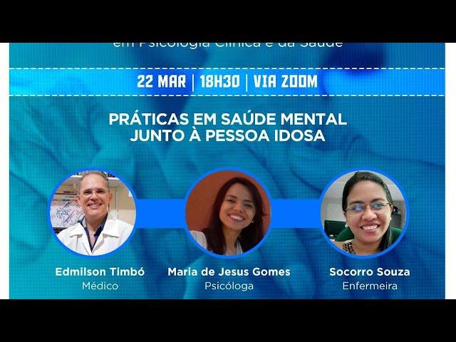 Webinar - XI Encontro Temático em Psicologia Clínica e da Saúde
