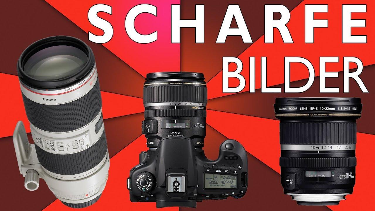 EOS 70D: Die 10 besten Objektive (APS-C) - (für alle Canon Crop ...
