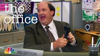 Kevin Temps as Reception - The Office
