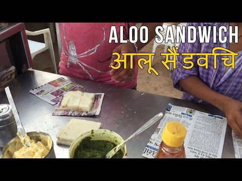 Aloo Sandwich at Shriram Sandwich | Channos Kitchen