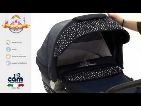 Детская коляска CAM Linea Classy в интернет магазине bebe-market.com.ua, bebe-store.com.ua