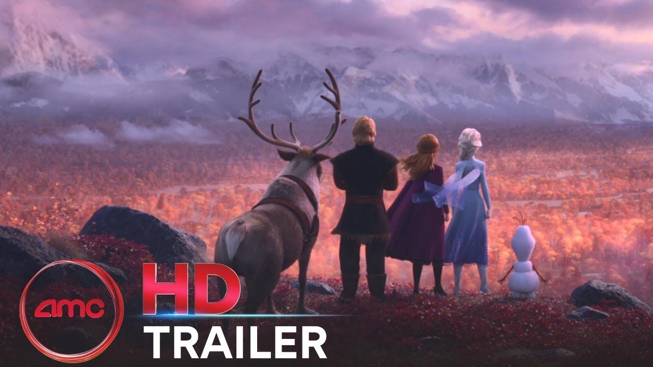 Frozen 2 Official Trailer Kristen Bell Evan Rachel