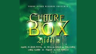 Culture Box Riddim Mix(2019)Jesse Royal,Alaine,Mr G,Chris Martin,Ginjah & More(Young Blood Records)