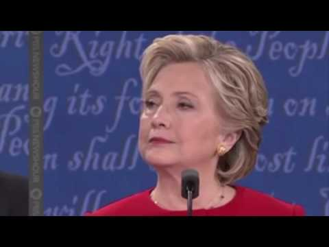 The Hillary Clinton first debate reaction cam