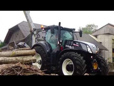 Holz häckseln 2.0 | New Holland T7.315 Black Beauty| |*HD*|