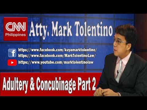 CNN: Adultery and Concubinage