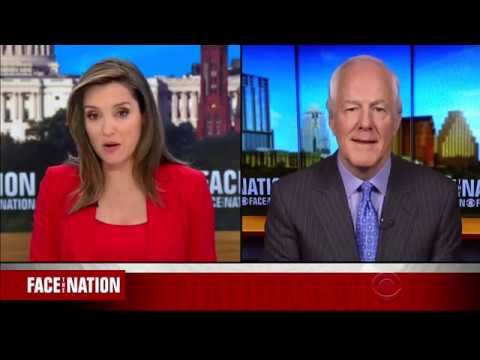 Cornyn Appears on Face the Nation