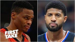 Paul George over Russell Westbrook? Max & Kendrick Perkins debate | First Take