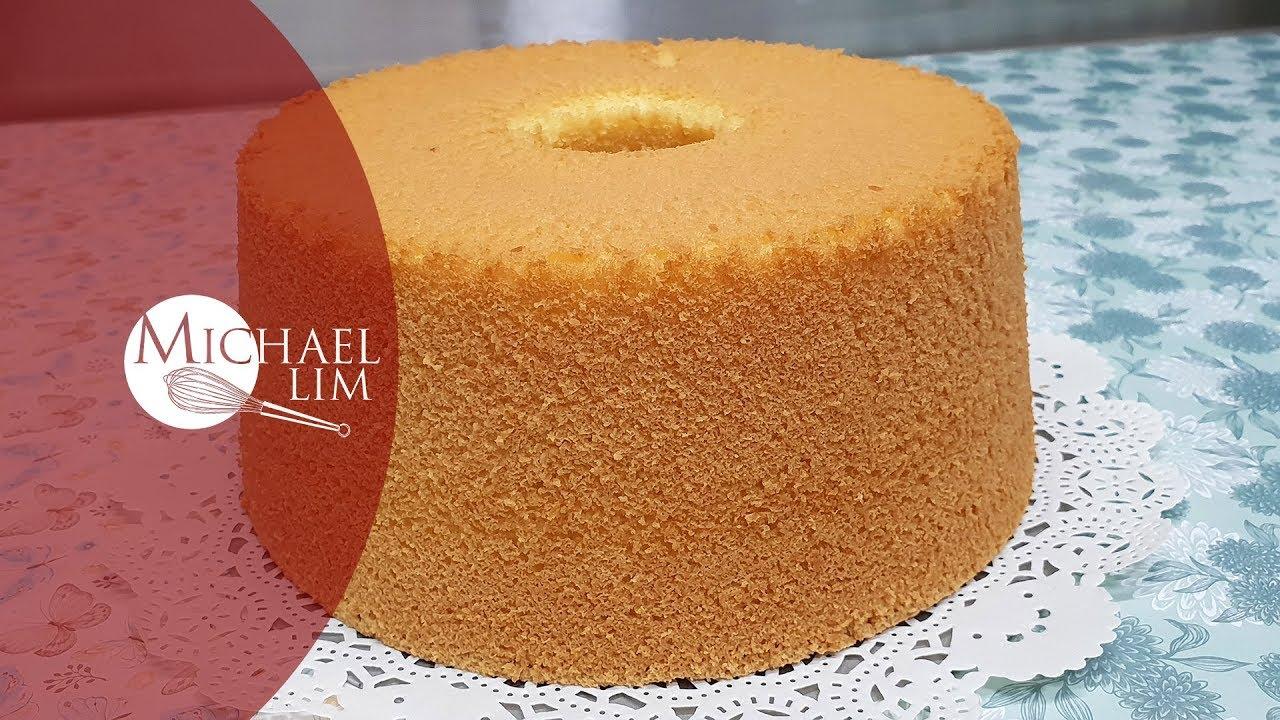 Vanilla Chiffon Cake Youtube