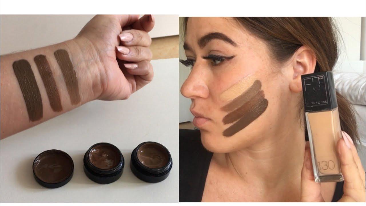 diy make up for dark skin i make up f r dunkle haut selber. Black Bedroom Furniture Sets. Home Design Ideas