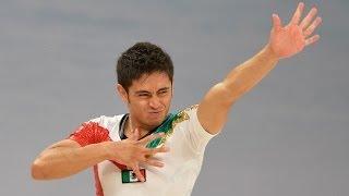 VELOZ VELAZQUEZ Josefath Ivan (MEX) -- 2014 Aerobic Worlds, Cancun (MEX), Qualifications