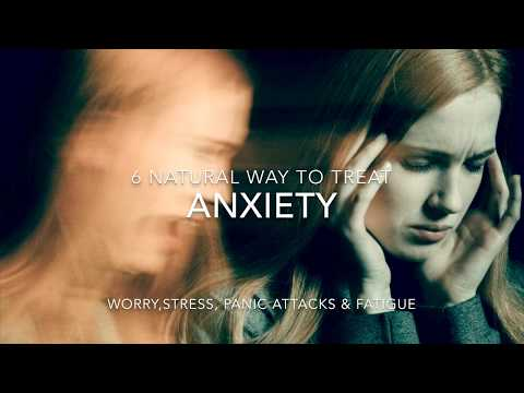 6 Natural Herbs and supplements to treat Anxiety, panic attacks and stress