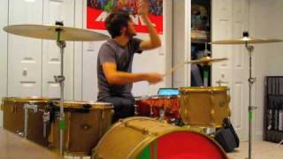 Anberlin- Never Take Friendship Personal- Drum Cover