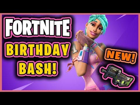 FORTNITE BIRTHDAY BASH CELEBRATION!