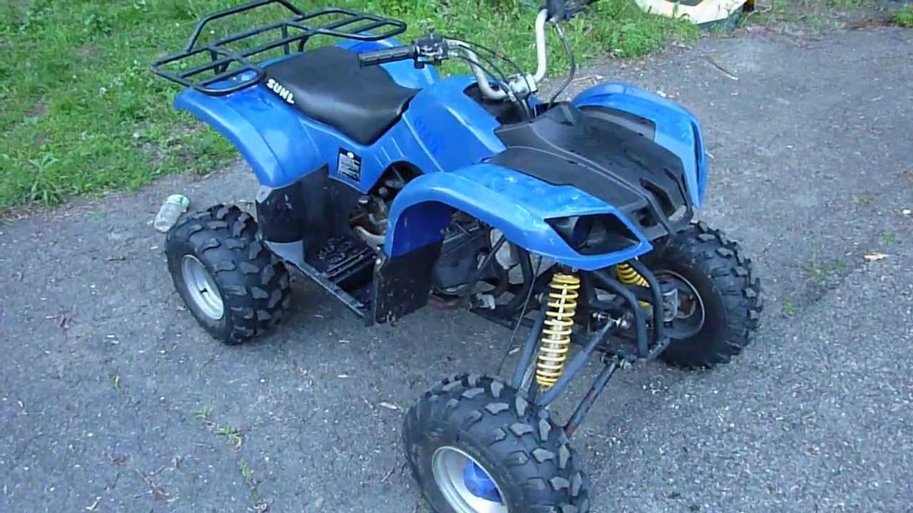110cc Atv Wiring Sunl Chinese 150cc Atv Will Smoke Ur Quad Youtube