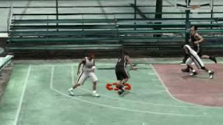 T-Mac plays streetball in NBA 2K9 part 3