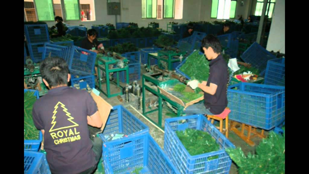 Artificial Christmas Tree Manufactory