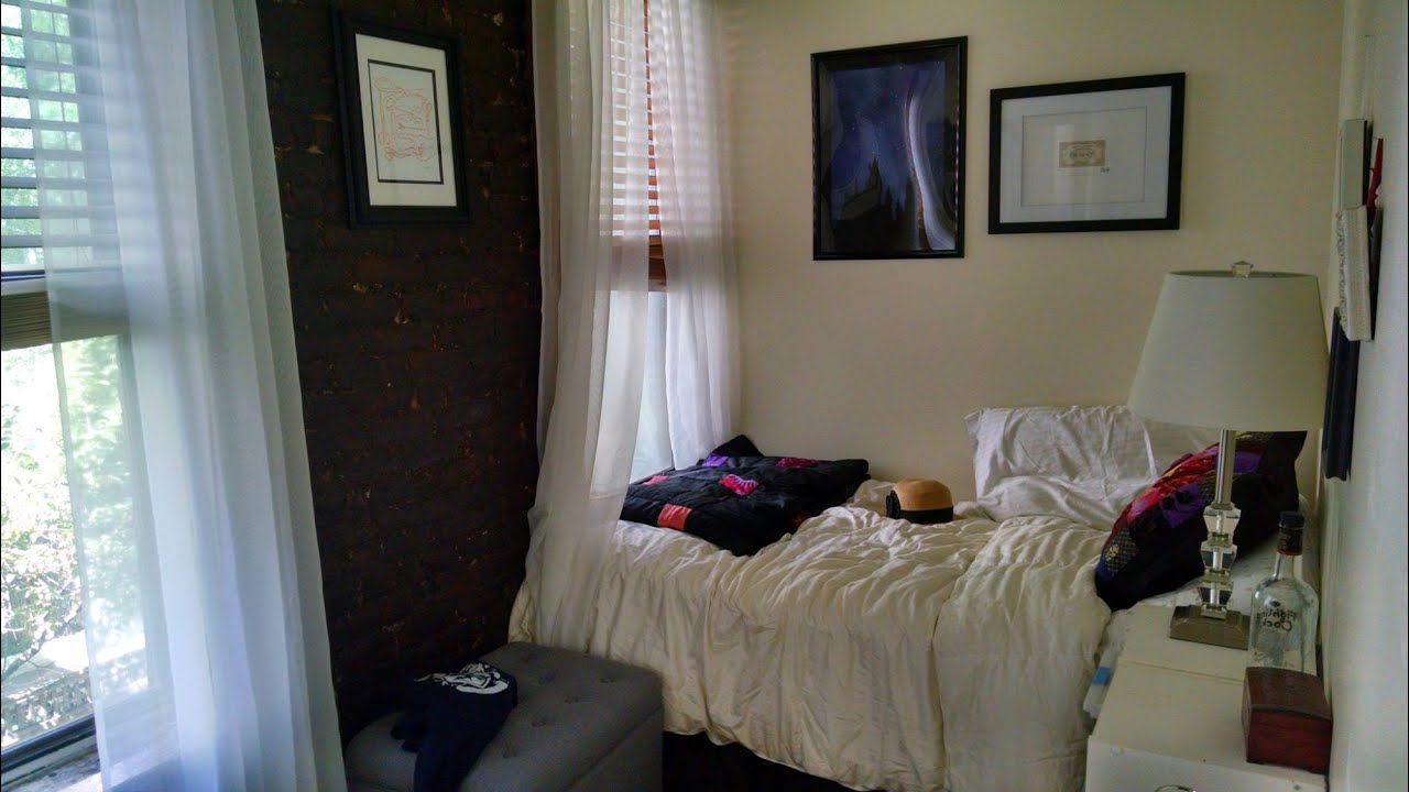 student apartment smallest new york apartments.  LIVING SMALL NYC Apartment Tour and Tips YouTube