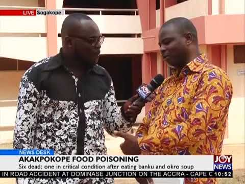 Akakpokope Food Poisoning - News Desk on Joy News (5-3-18)