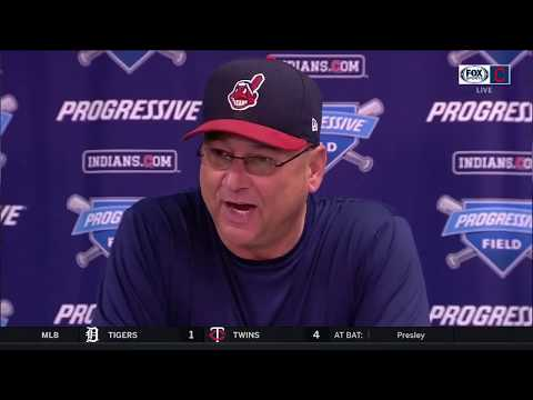 Terry Francona's postgame comments after the Indians' final regular season game