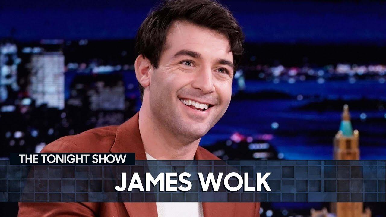 James Wolk's Neighbors Thought He Was John Krasinski   The Tonight Show Starring Jimmy Fallon