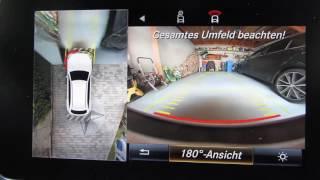 Mercedes GLC - Garageneinfahrt mit 360 Grad Kamera