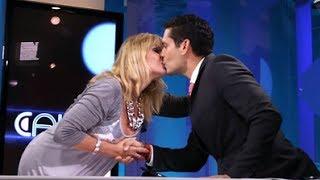 El sorprendente beso de Ana von Rebeur a Ismael Cala