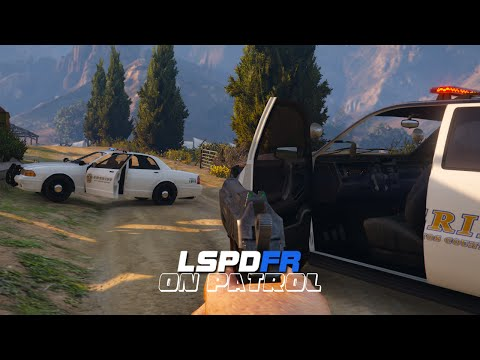 LSPDFR - On Patrol - Day 3 - First Person POV Patrol