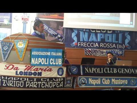 Il Napoli Supporters Trust a Brescia, l'intervento Carmine Carlo