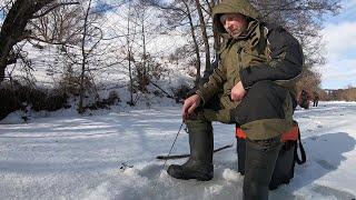 Рыбалка в конце февраля Глухозимье или может не в том месте пытались найти рыбу