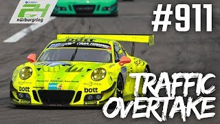 Porsche 911 takes over multiple cars! | ADAC Zurich 24h-Race 2018 at the Nürburgring