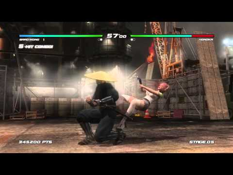 DEAD OR ALIVE 5 Last Round - Brad Wong Arcade (Legend)