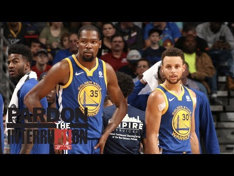 How big a deal is Steph Curry's injury and Kevin Durant's ejection? | Pardon The Interruption | ESPN