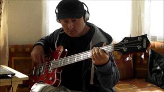 Stormy monday blues on Gretsch Electromagnetic bass