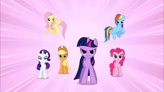 the mane 6 take on nightmare moon my little pony friendship is magic season 1