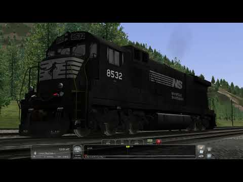 TS2020: DTM NS C36-7 Load Testing (WIP GE Early FDL Sound Pack Test) [WIP]