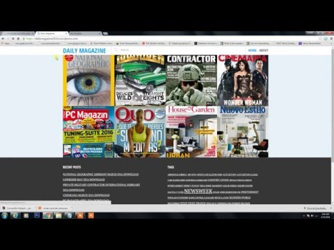 How To Download pdf Magazine
