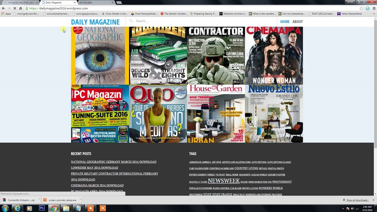 Page Magazine Pdf