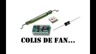 Cyrob : Colis de fan, plein de trucs sympa...