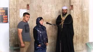 Pranimi i Islamit nga një grua gjermane në Prishtinë 2012   HD 