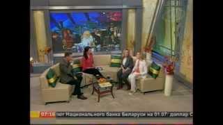 """Татьяна Панова и Екатерина ШумскАя в программе """"Наше утро"""""""