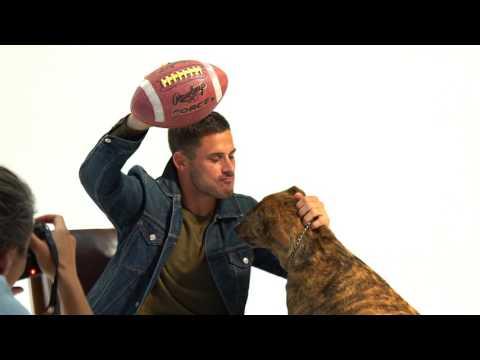 Danny Amendola Fashion Shoot - GOAT - New England Patriots