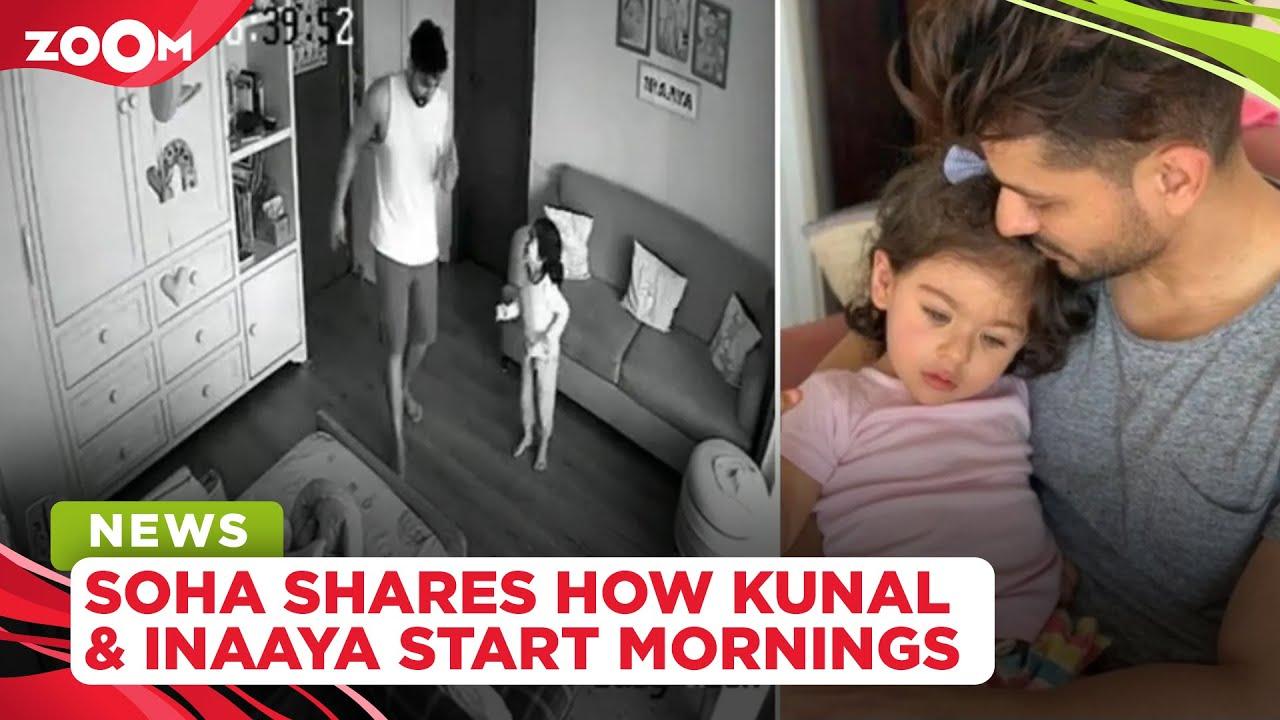 Soha Ali Khan shares how Kunal Kemmu and Inaaya start their mornings