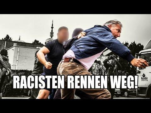 RACISTISCHE PEGIDA PROVOCEERT IN EINDHOVEN