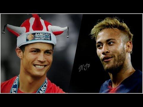 Cristiano Ronaldo Vs Neymar Jr • Battle Of Dribles • United x Paris •