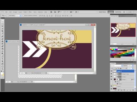 Adobe Photoshop CS5 [ แนวทางการทำนามบัตร ]