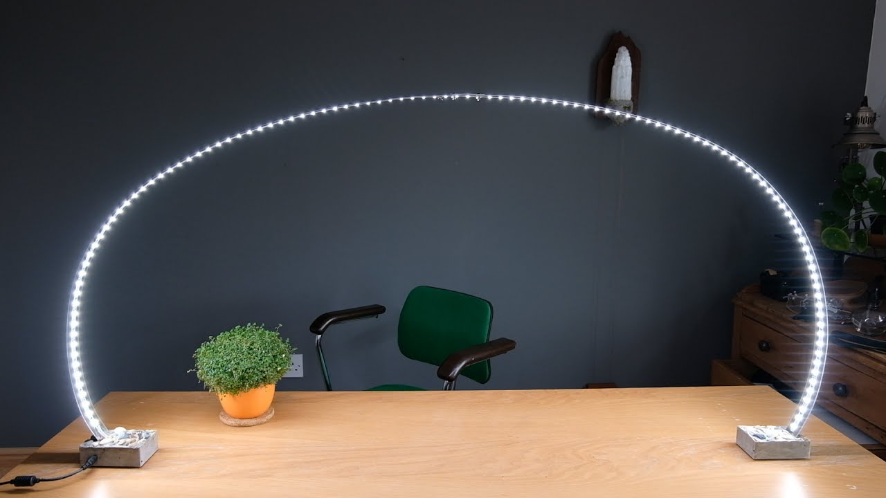 3 inventive lighting projects using LED strips - YouTube
