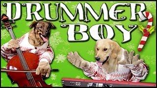 Смотреть клип Walk Off The Earth Ft. Doggies - Little Drummer Boy